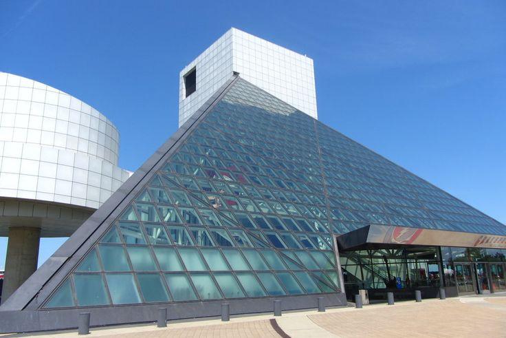 Rock n Roll Hall of Fame by garnet-moon.deviantart.comRock N Roll, Hall Of Fame, Rocks N Rolls, Cleveland Ohio, Rolls Hall