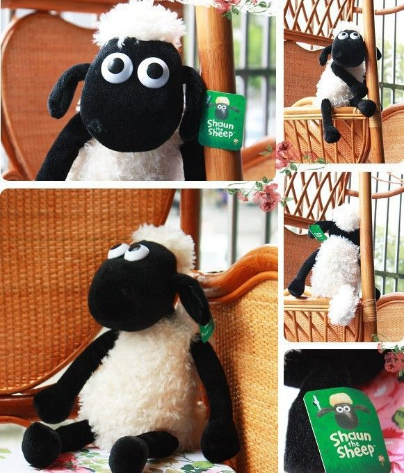 Pas cher 25 CM mignon Shaun le mouton agneau en peluche jouet en peluche cadeau de bébé, Acheter  Animaux en peluche et rembourrés de qualité directement des fournisseurs de Chine:   Mignon Shaun le mouton agneau peluche bourré jouets bébé cadeau            Description:             Tout comme