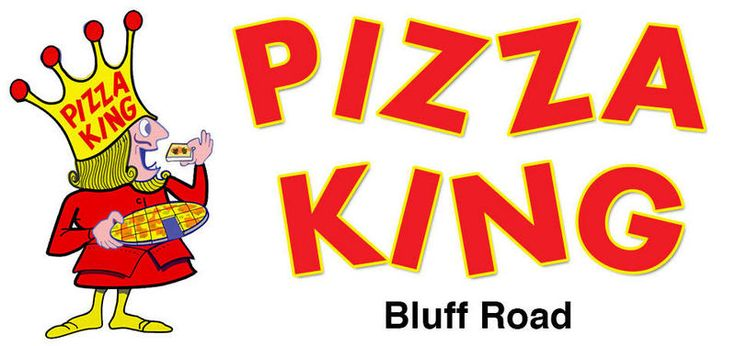 """$2.50 OFF Any 16"""" Pizza Coupon from Pizza King - Bluff Road"""