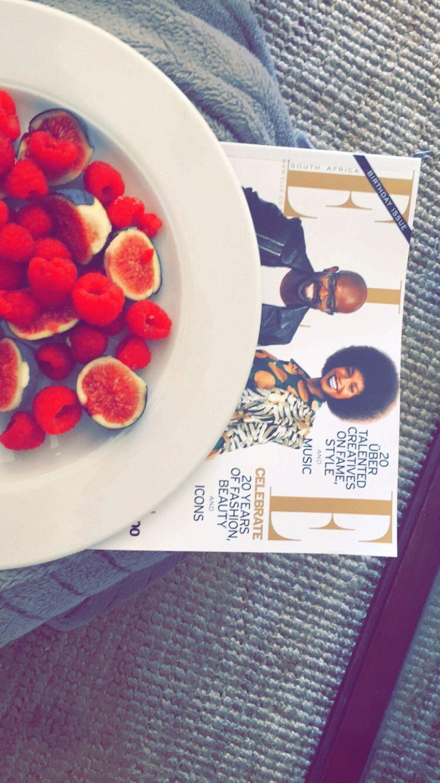 #elle #magazines #fruit #berries #figs