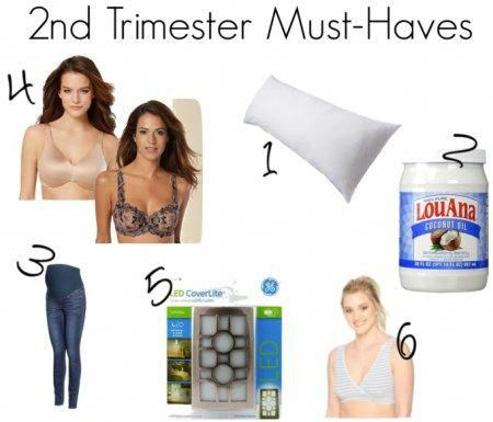 163fd1abab9 Pregnancy Must-Haves by Trimester. Great maternity bras