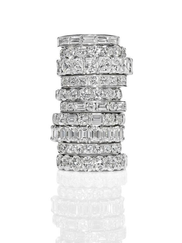 Harry Winston One for every finger. #iloveharrys #winstonstylespotterprince
