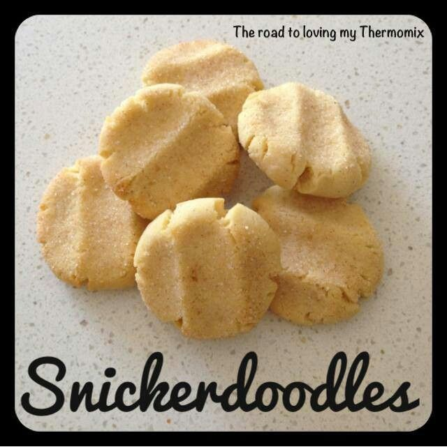 Thermomix snickerdoodles