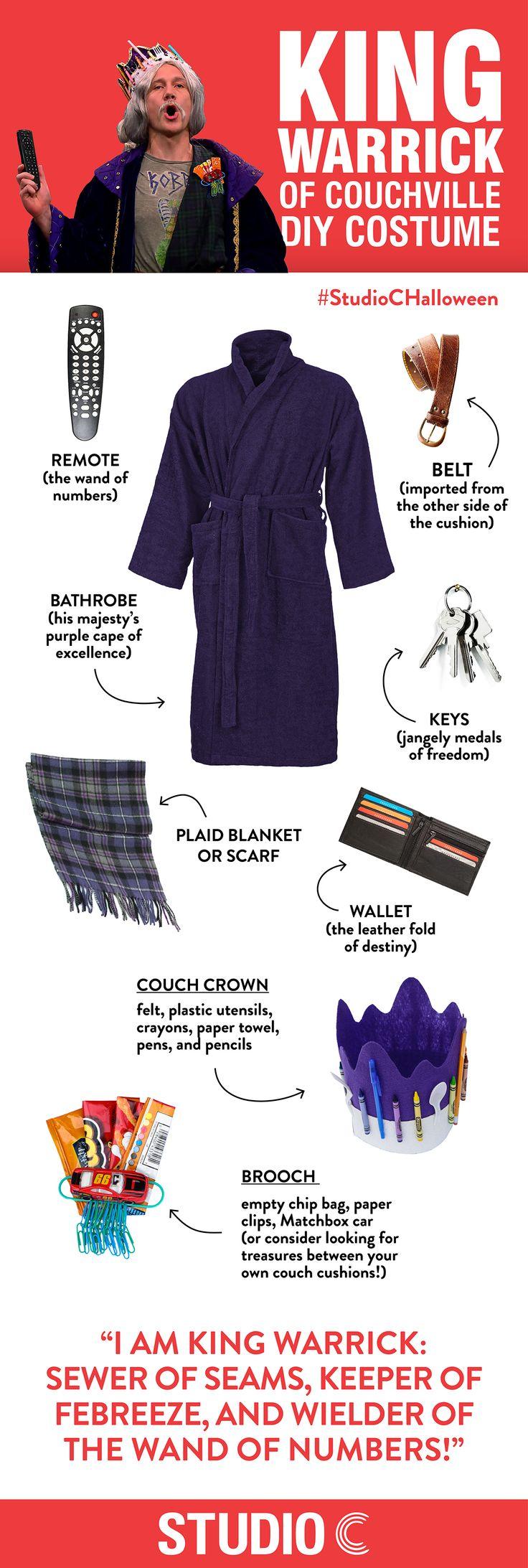 DIY Costume - King Warrick