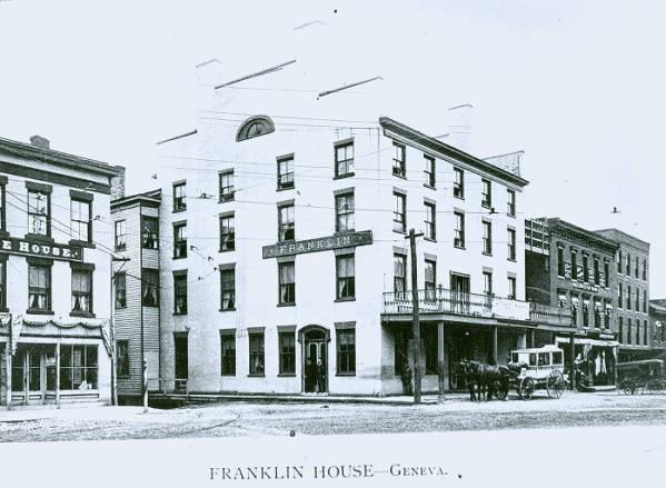 Franklin Hotel  Geneva, NY