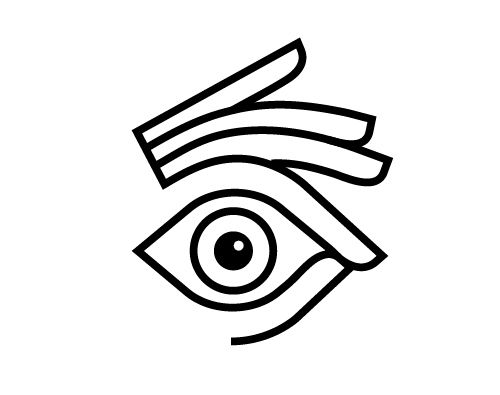 This logo is simple and it almost symbolizes being observant or detailed. It's also smart with the eye and fingers.
