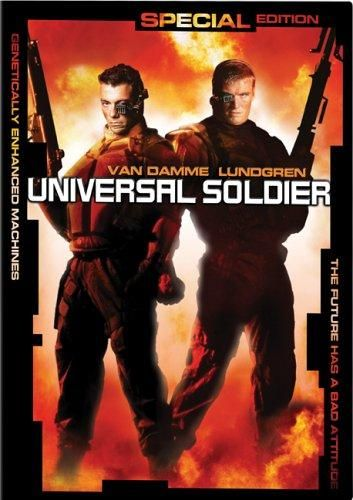 Universal Soldier (1992) Directed by Roland Emmerich.  With Jean-Claude Van Damme, Dolph Lundgren, Ally Walker, Ed O'Ross. Luc and Scott were killed in Vietnam, but the army has a secret project for reanimating dead people as near-perfect soldiers.