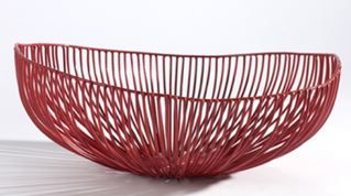 Serax-Tale-diepe-schaal-37x33cm-rood