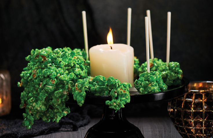 Green Marshmallow Slime Popcorn