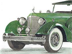 vintage car art sm