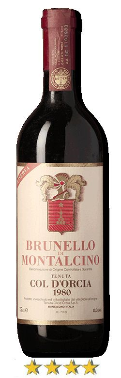 #Brunello di Montalcino Riserva 1980 #DOCG. Questo #vino sorprende per la grande freschezza che promette ulteriori capacità di sviluppo e conservazione.     Alcool:  13,8%