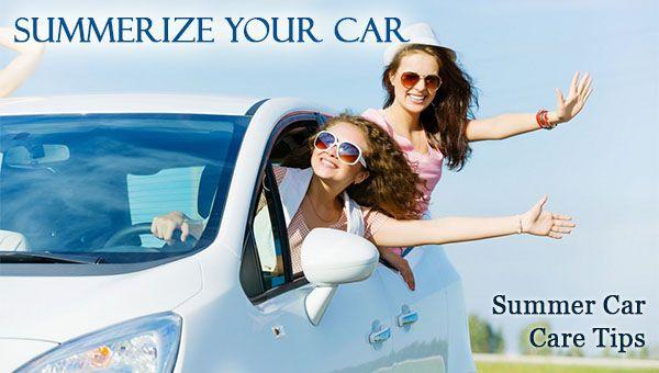 Summer Car Care Tips - Summerize Your Car - Dot Com Women