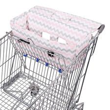 Bambella Designs Trolley Cover Chevron Pink