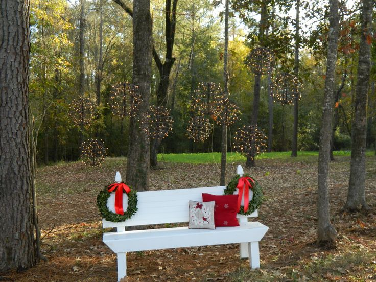 My Christmas Setting for pictures