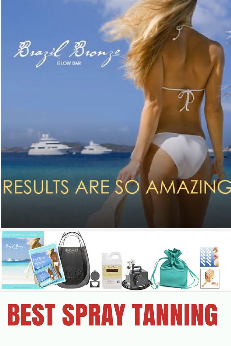 Best Spray Tanning Products & Equipment from BrazilBronze spray tan solutions