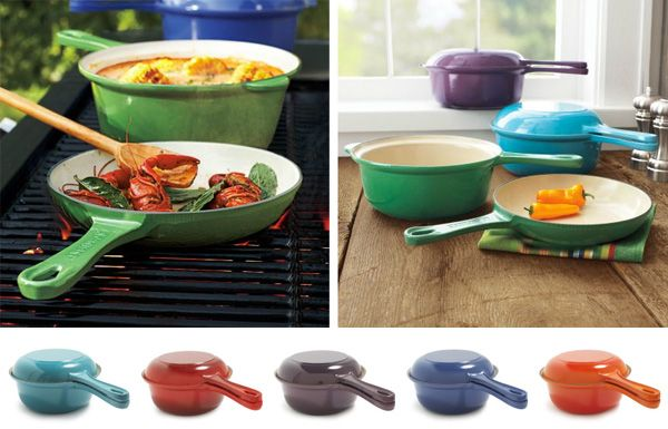 Yes please. Le Creuset Two-in-One pan. Now, which color to get?