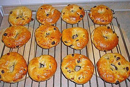Cinnamon Bagels bzw. Zimt - Rosinen - Bagels (Rezept mit Bild) | Chefkoch.de