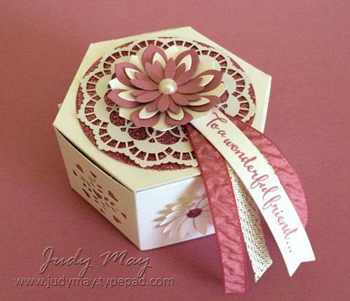 Stampin' Up! Window Box Thinlits & Succulent Framelits - Judy May, Just Judy Designs