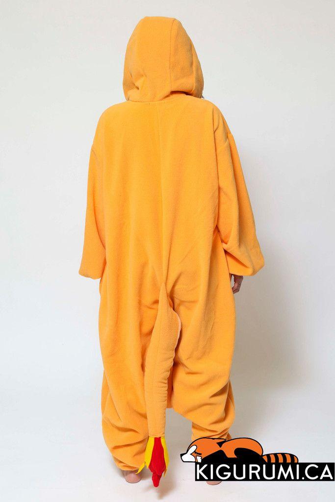 Charmander Onesie Kigurumi Character Costume Adult Pajamas