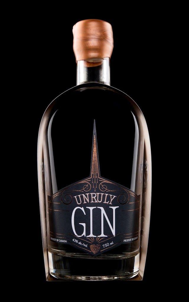 Hired Guns Creative - Unruly Vodka and Unruly Gin #Packaging #Design — World Packaging Design Society / 世界包裝設計社會 / Sociedad Mundial de Diseño de Empaques