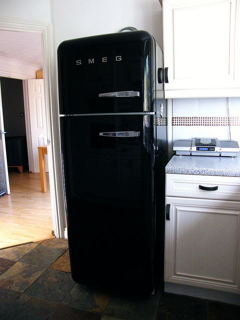 This is the most beautiful fridge I've ever seen.