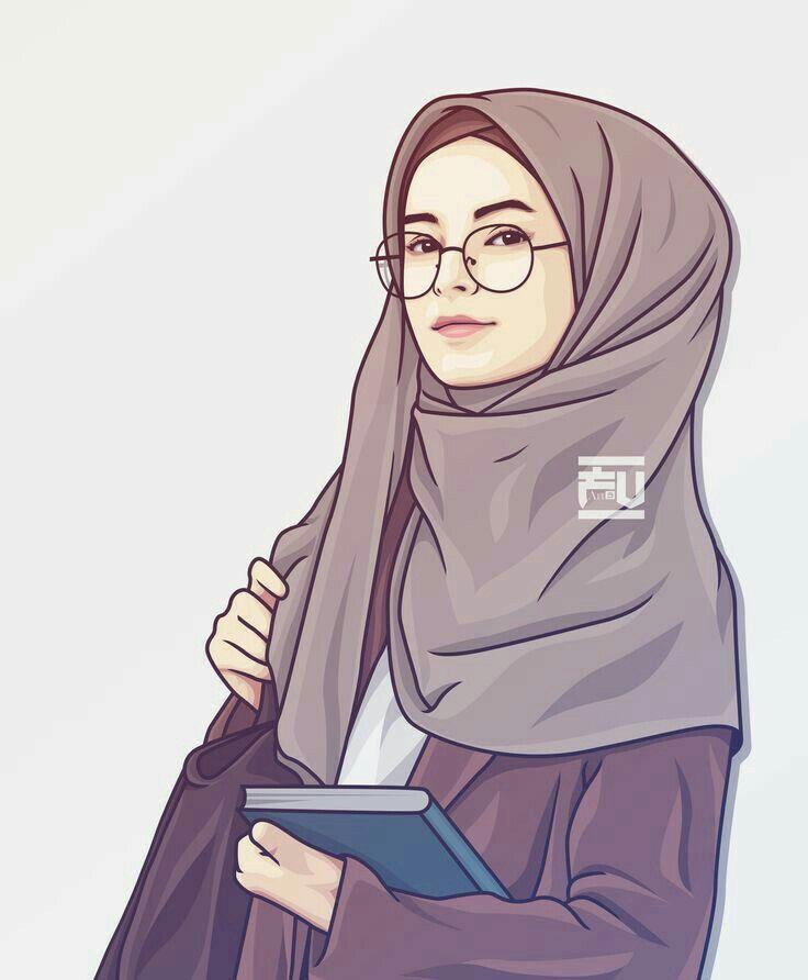 Pin By Meerab Fatima On Animated Drawings Girls Cartoon Art Hijab Cartoon Islamic Cartoon