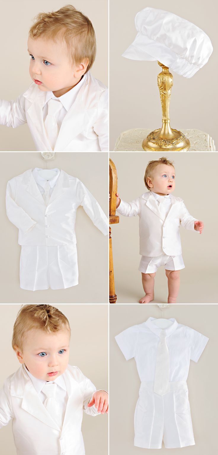 11 best images about Wedding Baby Boy Ring Bearer Outfits on Pinterest | Traditional Rompers ...
