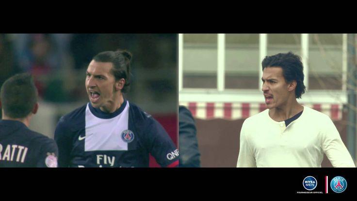 Avec NIVEA MEN, ils ont rejoué la 1ère partie de saison du Paris Saint-G...