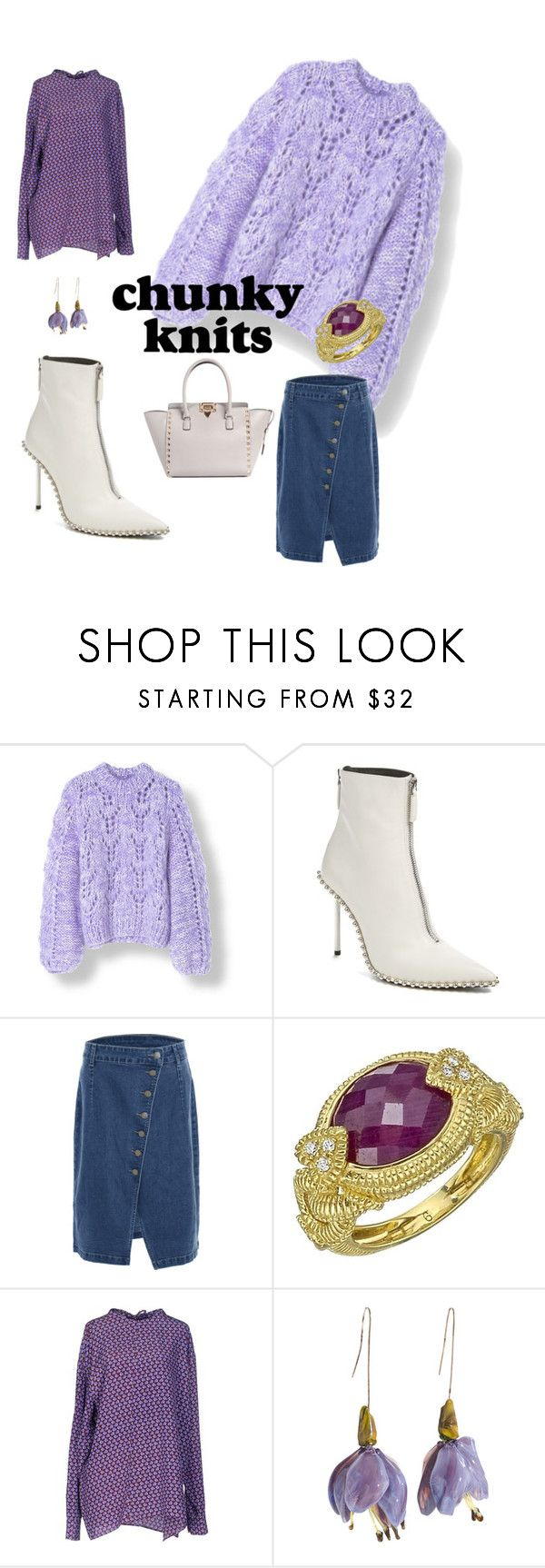 """Warm up"" by blumbeeno on Polyvore featuring Alexander Wang, Judith Ripka, Marni and Valentino"