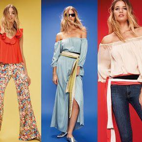 MODA. Estas son las tendencias del verano que presenta la marca argentina de indumentaria femenina y accesorios Sophya.   MODA MUJER VERANO 2017.