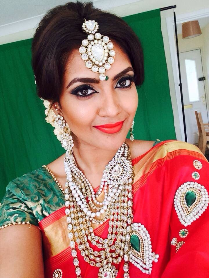 Vithya💄👩🏽 Tamil makeup artist from the Uk Vithya hair