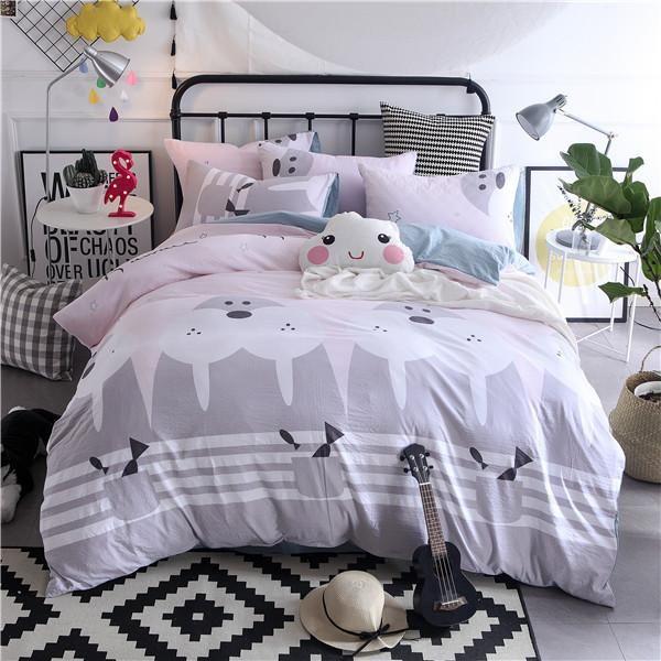 Available At Ricki Rocket Walrus Duvet Bedding Set Light Pink
