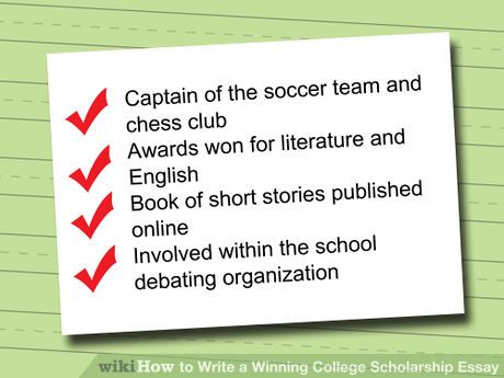 td scholarship winning essays University of wisconsin, green bay this essay has 5 pages of writing, a cover page and end notes - a researched scholarship essay sample the author was a history major who won a liberal arts scholarship.