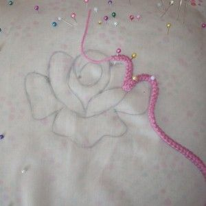 Romanian Point Lace Crochet - rose motif - Photo tutorial •✿• Teresa Restegui http://www.pinterest.com/teretegui/ •✿•