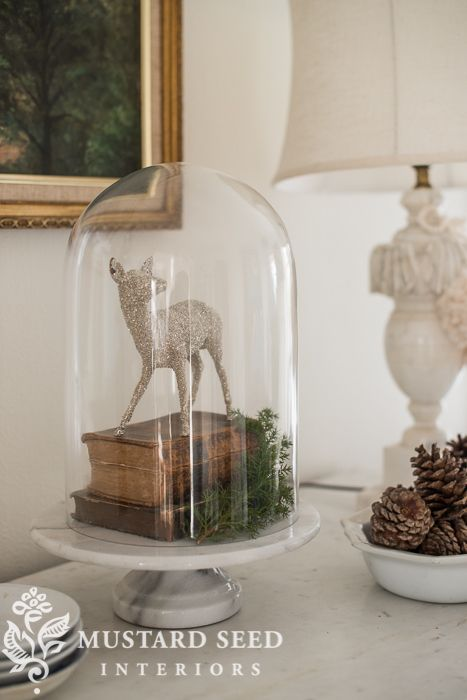 Christmas decorating | the living room - Miss Mustard Seed