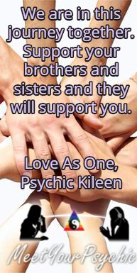 We are in this journey together. Support your brothers and sisters and they will support you.  Psychic Phone Readings 18779877792 #psychic #accurate