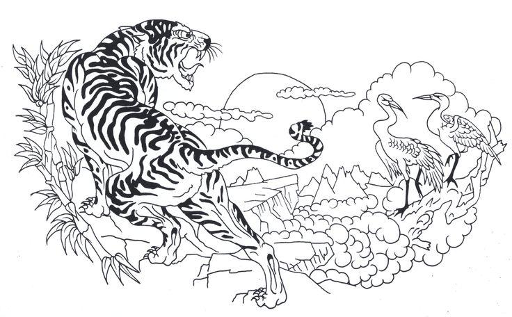symbol tattoos tribal flower tattoo design outline tiger tattoo design