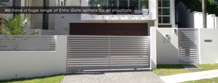 Factory Direct Fencing – Entry Gates
