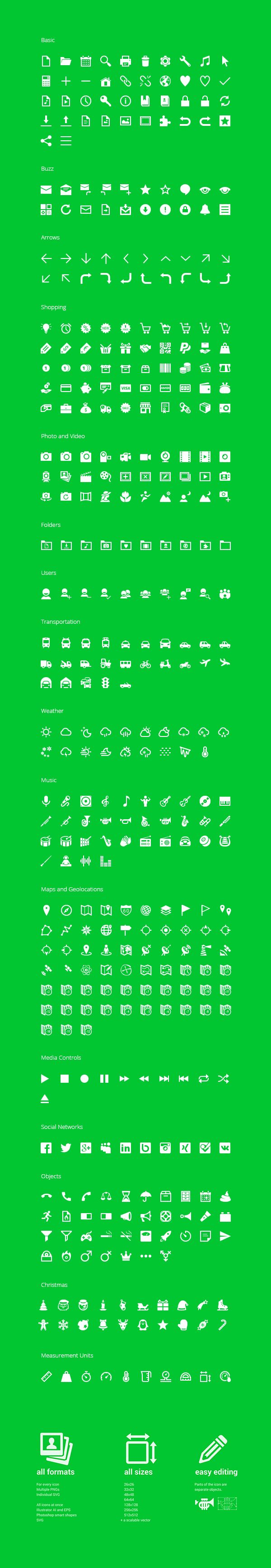 350 Free Android Icons | GraphicBurger