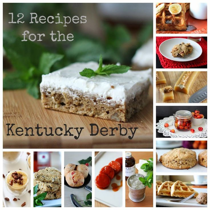 12 Favorite Kentucky Derby Recipes | Fake Food Free | Recipes inspired by the great state of Kentucky and Derby Day!