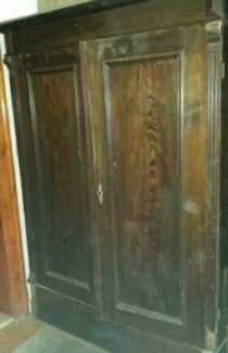 Spectacular Antiker Kleiderschrank zerlegbar guter Zustand in Dresden B hlau eBay Kleinanzeigen