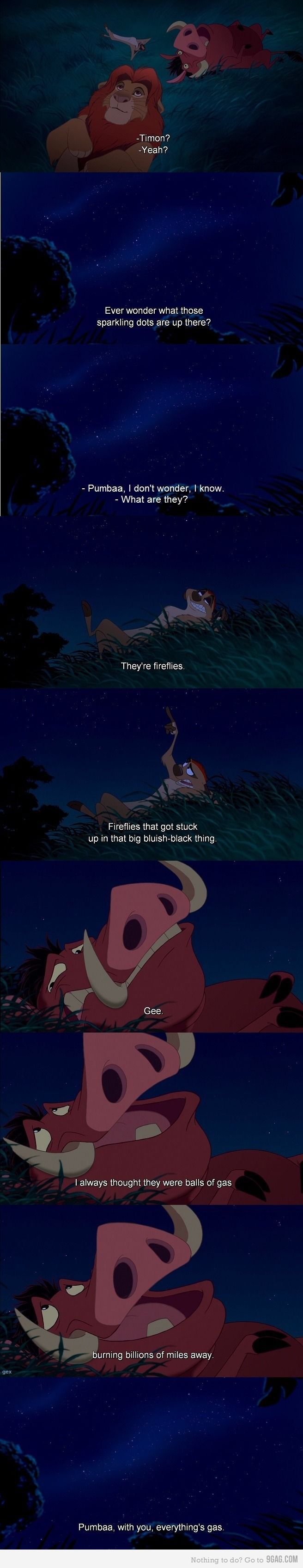 Lion king :) I just quoted this scene the other day! haha