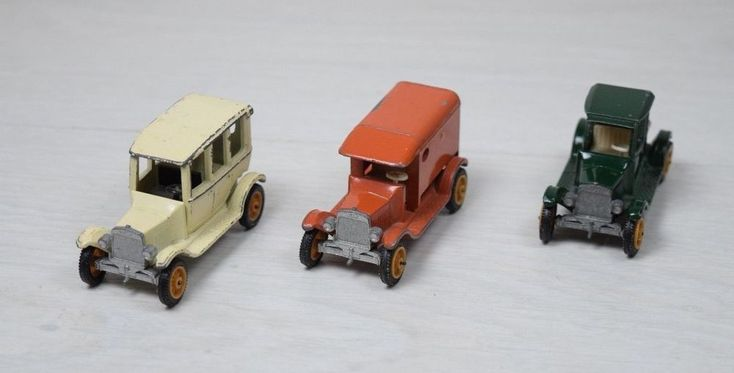 Vintage 3 Collectible 1919 Model T-Ford EFSI Holland Delivery Trucks 1:64 Scale #Ford