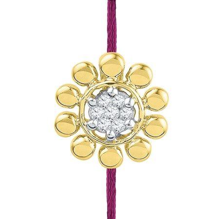 Jpearls Maliha Diamond #Rakhi. Rs. 3723.  Get our exquisite Jewellery for Raksha Bandhan today!