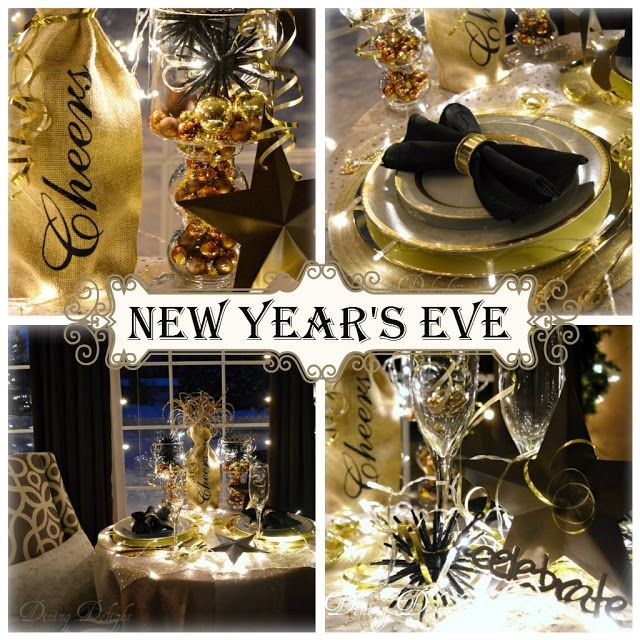 1000 images about new year 39 s tablescapes decor on for Table 52 new years eve