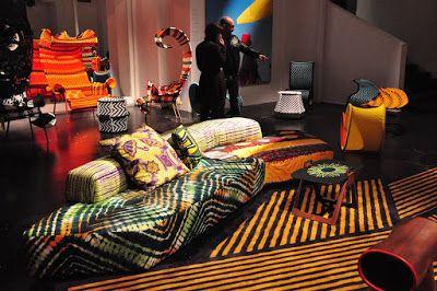 La folie du wax: La décoration africaine