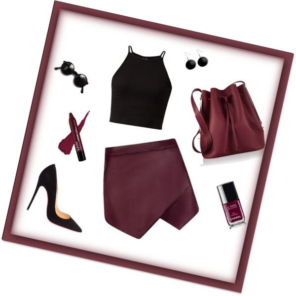 Lovely outfit for summer by sostudd on Polyvore featuring Christian Louboutin, Sophie Hulme, Karen Kane and Chanel