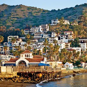 Avalon, Catalina Island.  Had a wonderful time here years ago & would love to go back.