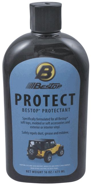 All Things Jeep - Bestop Jeep® Soft Top PROTECTANT; 16oz Bottle