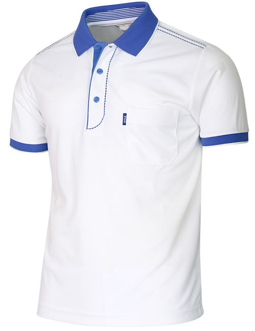 Short Sleeve Dri Fit Stitch Point Polo Shirt-Unisex in 2019 ... 992c4850ad